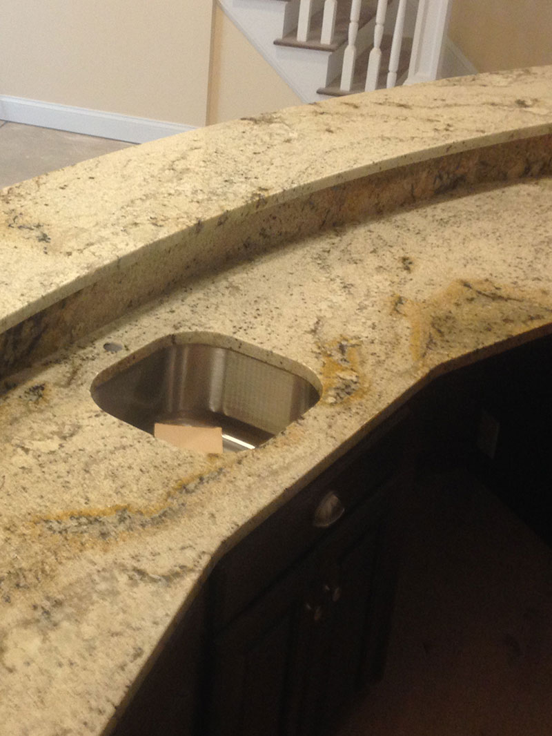 Zavarella Marble and Granite Process Step 3